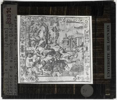 Jean Cousin I (ontwerper). Legende van de Heilige Mammes :Heilige Mammes predikt aan de dieren