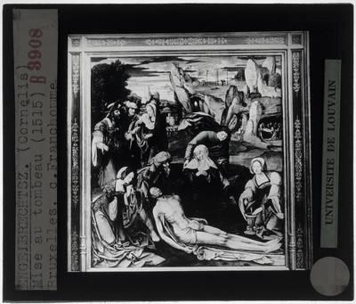 Cornelis Engebrechtsz.. De graflegging van Christus