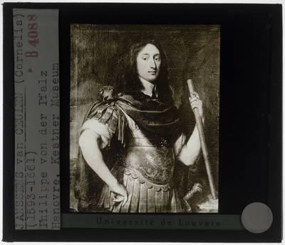 Cornelis Janssens van Ceulen. Portret van prins Filips van de Palts
