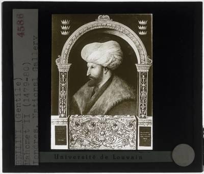 Gentile Bellini. Sultan Mehmet II