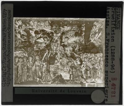 Cimabue. Kruisiging