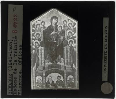 Cimabue. Santa Trinita Madonna