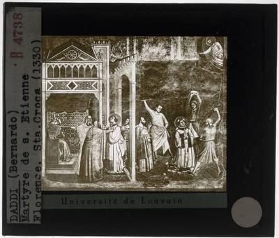 Bernardo Daddi. Martelaarschap van de Heilige Stefanus