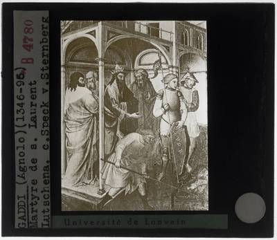 Agnolo Gaddi. Martelaarschap van de Heilige Laurentius