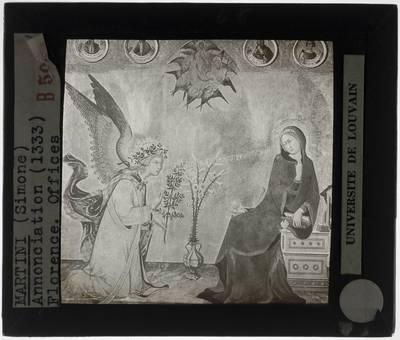 Simone Martini. Lippo Memmi. Annunciatie