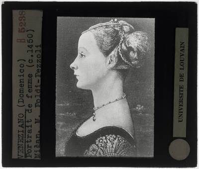 Domenico Veneziano. Portret van een vrouw