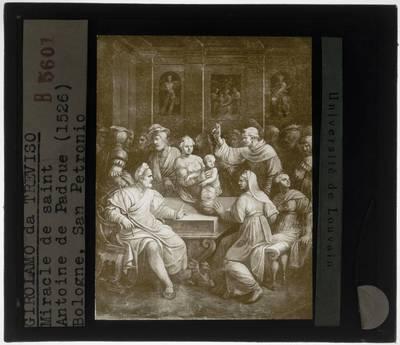 Girolamo da Treviso. Het mirakel van Sint-Antonius van Padua