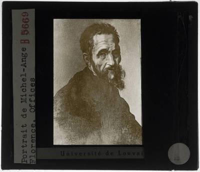 Jacopino del Conte. Portret van Michelangelo