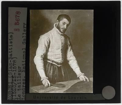 Giovanni Battista Moroni. De kleermaker