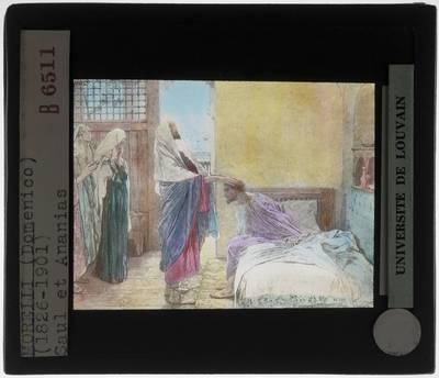Domenico Morelli. Saul en Ananias