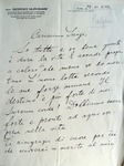 Letter from Giorgio Nurigiani to Salvini (24.12.1939)