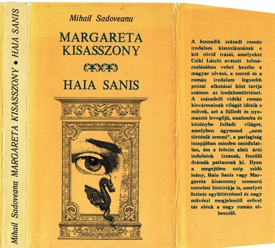 Margareta kisasszony ; Haia Sanis :  két kisregény