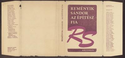 Az építész fia :  versek (1916-1941)