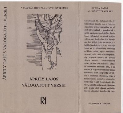 Áprily Lajos válogatott versei