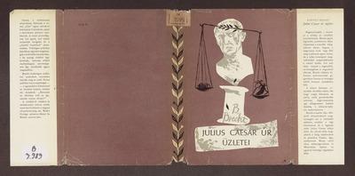 Julius Caesar úr üzletei :  regénytöredék