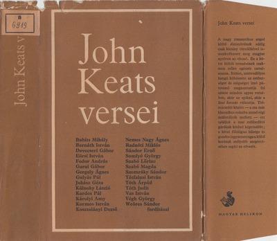 John Keats versei