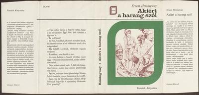 Akiért a harang szól :  regény