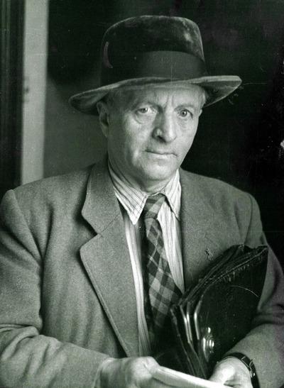 Balázs Béla portré