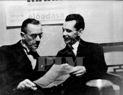 József Attila és Thomas Mann