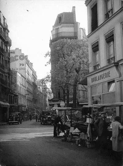 Rue de Levis (utcarészlet)