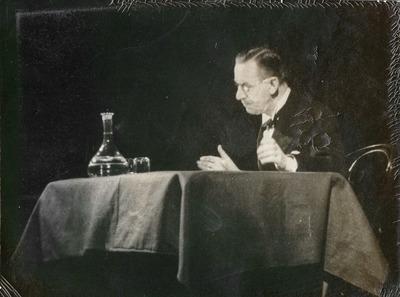 Thomas Mann előadása a Magyar Színházban