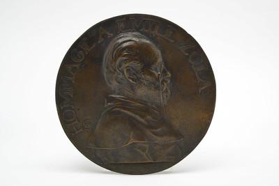 Plakette auf Émile Zola