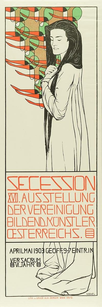Secession. XVII. Ausstellung der Vereinigung bildend. Künstler Oesterreichs. 1903