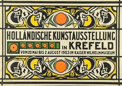 Holländische Kunstausstellung in Krefeld