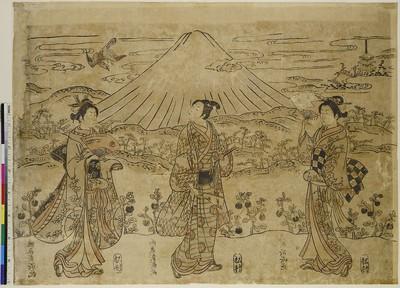 Die drei glücksverheißenden Träume (Der Fuji, der Falke und die Aubergine)