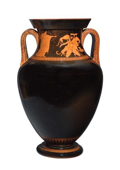 Bauchamphora (Artemis und Aktaion / Argos und Io)