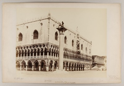 Venezia - Palazzo Ducale e Colonna preso dal Molo