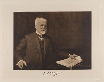 """Image from object titled """"C. Illies i. F. C. Illies & Co., Vorsitzender der Ostasiatischen Gesellschaft"""" aus der Mappe """"Hamburgische Männer und Frauen am Anfang des XX. Jahrhunderts"""""""
