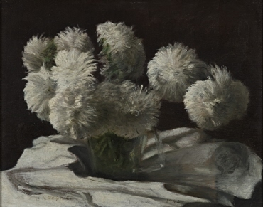 Image from object titled Weiße Chrysanthemen