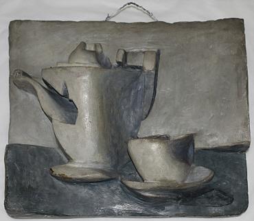 Stilleben I (mit Teekanne)