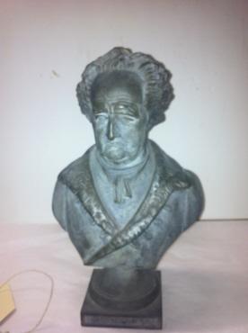 Büste Goethes