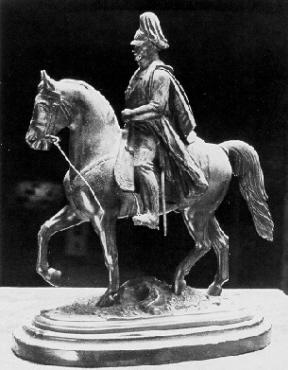 Reiterstatuette Wilhelms I.