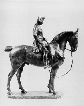 Image from object titled Reiterstatuette Friedrich II