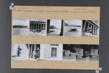 Altes Museum. Berlin, Mitte, Marx-Engels-Platz (ab 1991 Lustgarten/ab 1994 Schloßplatz)