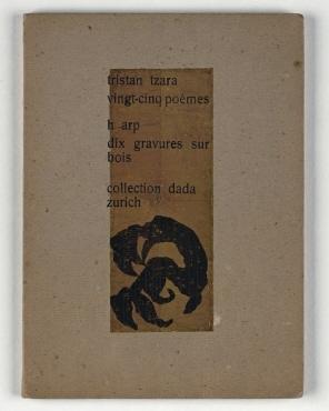 vingt-cinq-poèmes : h arp dix gravures sur bois / Collection Dada Zürich.