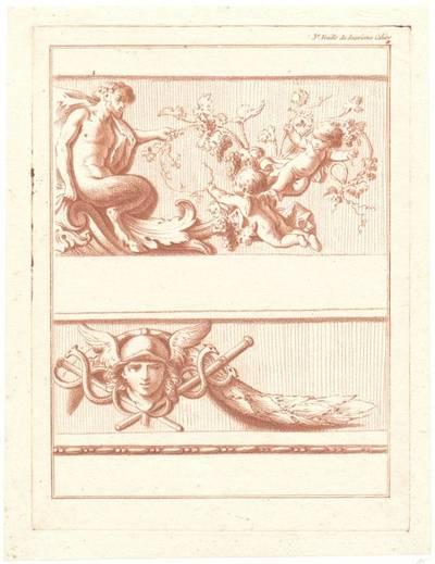 """Blatt 3 aus der Folge """"Deuxieme Cahier des Arabesques"""", herausgegeben von Bonnet, Verlagsnummer 672"""