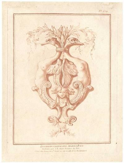 """Titelblatt der Folge """"Quartieme Cahier des Arabesques"""", herausgegeben von Bonnet, Verlagsnummer 674"""
