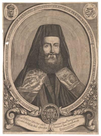 Portrait von Meletius Typaldus