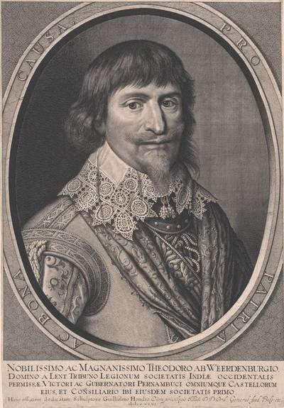 Portrait des Theodor van Weerdenburg
