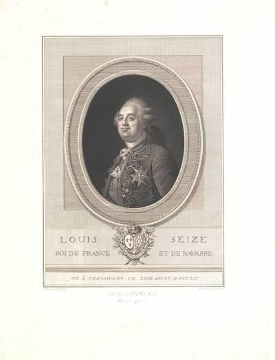 Portrait des Königs Ludwig XVI., nach Joseph Boze