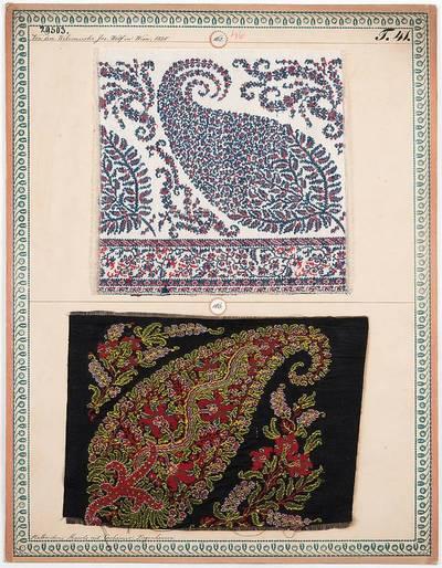 Halbseidene Shawls mit Cachemir-Ziegenhaaren