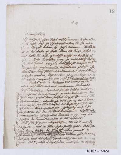 Schreiben an Cornelius Gurlitt (Brief)