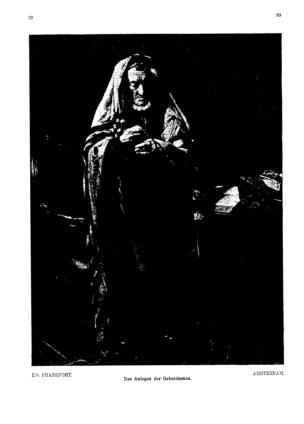 Image from object titled Das Anlegen der Gebetsriemen (Ost und West)