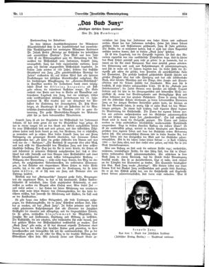 """Image from object titled """"Das Buch Zunz"""" : """"künftigen ehrlichen Leuten gewidmet"""" (Bayerische israelitische Gemeindezeitung)"""