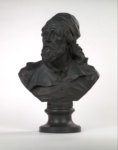 """Image from object titled Inigo Jones (""""Library Bust"""")"""