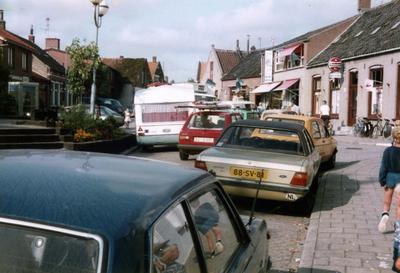 Scharendijke. Dorpsstraat. Verkeersproblematiek.